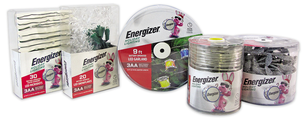 Energizer Lighting Product Collage